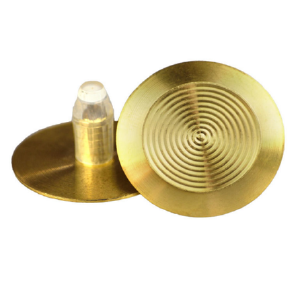 T03 SOLID BRASS TACTILE WITH 20MM SELF-LOCKING STEM