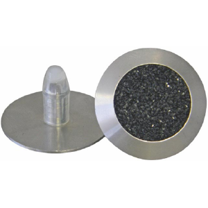 T06 SOLID 316 STAINLESS STEEL TACTILE. CARBORUNDUM INFILL WITH A 18MM X 8MM SELF-LOCKING STEM