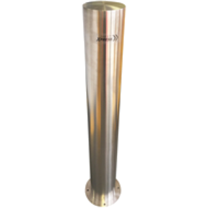 BOLLARD – SURFACE MOUNT 140MM STAINLESS STEEL