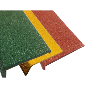 FIBREGLASS PLUS STAIR NOSING – 10MM X 70MM X 3.620M FPL10