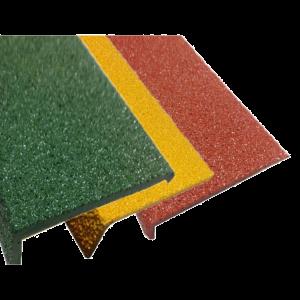 FIBREGLASS PLUS STAIR NOSING – 10MM X 70MM X 3.620M FPL10