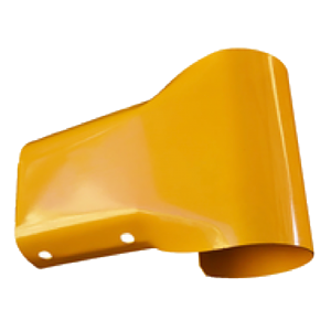Guardrail Bullnose end