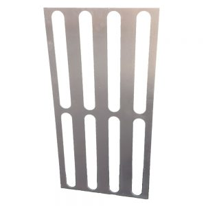 Tactile 316 stainless steel directional template 300mm x 600mm for installing Quick-Fix stainless steel directional bars
