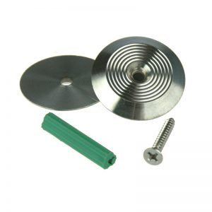 T08 316 Stainless Steel tactile with Tap Screw hole